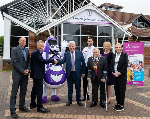 Freedom Leisure officially takes over the running of the district's leisure facilities