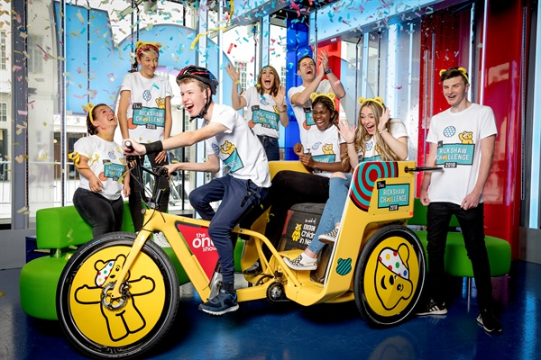 Come and support BBC Children in Need – The One Show's Rickshaw Challenge