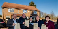 Bletchingley housing development awarded Secured by Design