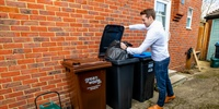 New wheelie bins for rubbish on their way