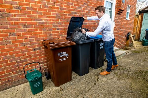 New wheelie bins for rubbish on their way